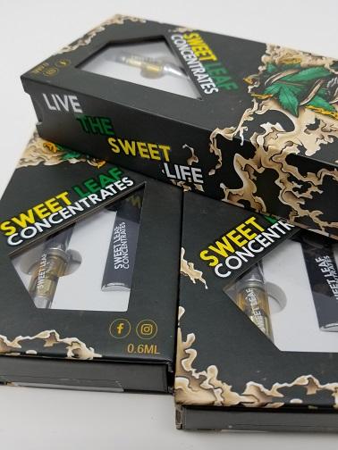 Premium Vape Pen FULL KIT 0 6ml - Sweet Leaf Concentrates