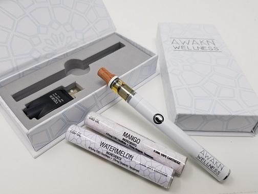 Premium CBD Vape Pen FULL KIT 0 5ml - Awakn Wellness